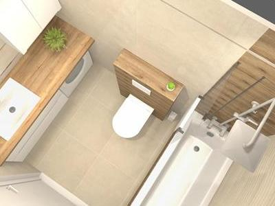 Projekt łazienki 10