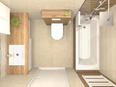 Projekt łazienki 15