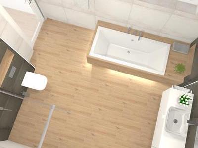 Projekt łazienki 17