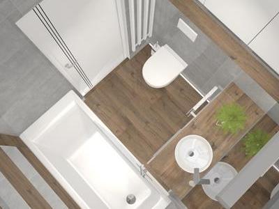 Projekt łazienki 23