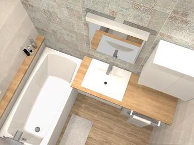 Projekt łazienki 24