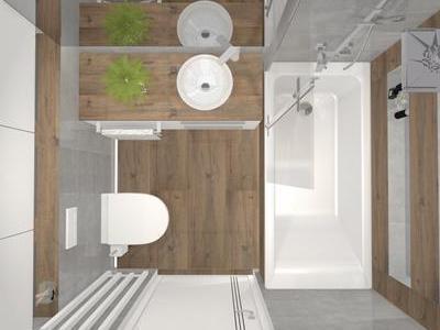 Projekt łazienki 25