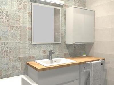 Projekt łazienki 57