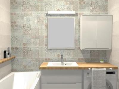 Projekt łazienki 68