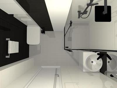 Projekt łazienki 7