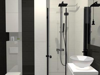 Projekt łazienki 74